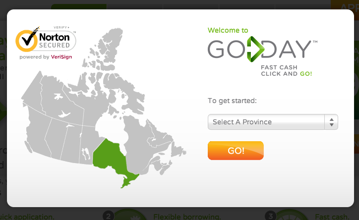 payday loans Goday.ca