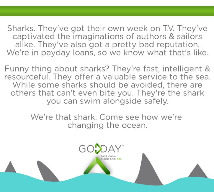 GoDay.ca Payday Loans - Sharks