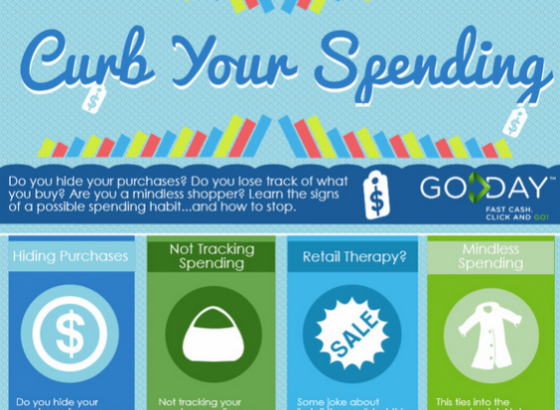 GoDay.ca Curb Your Spending Infographic