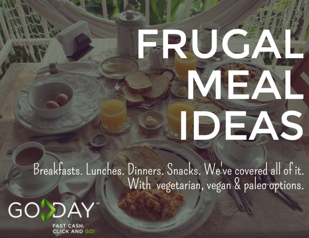 Frugal Meal Ideas - GoDay.ca