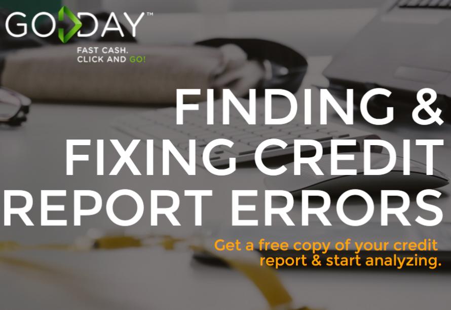 Blog Header April 10 2015 Credit Report Errors