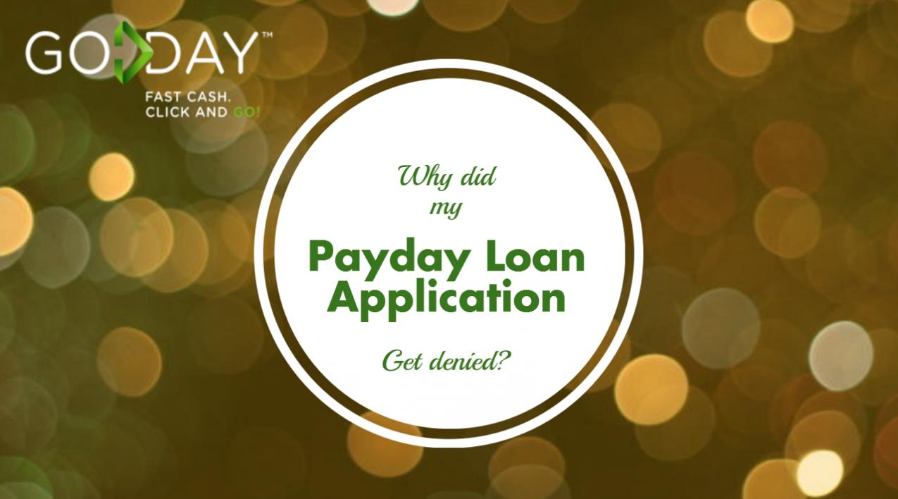 Blog Head- Payday Loan Denied