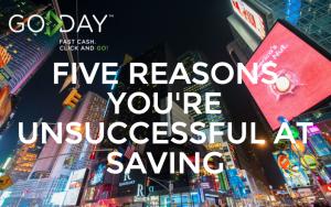 Five Reasons You're Unsuccessful At Saving